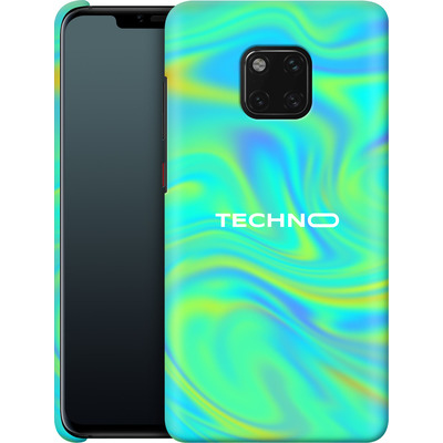 Huawei Mate 20 Pro Smartphone Huelle - PSYCHEDELIC GREEN von Berlin Techno Collective