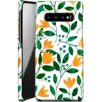 Samsung Galaxy S10 Plus Smartphone Huelle - Fresh Foliage  von Iisa Monttinen