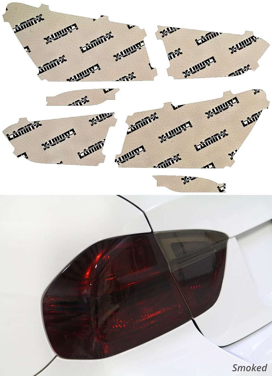 Chevrolet Malibu 16-20 Smoked Tail Light Covers Lamin-X CH248S