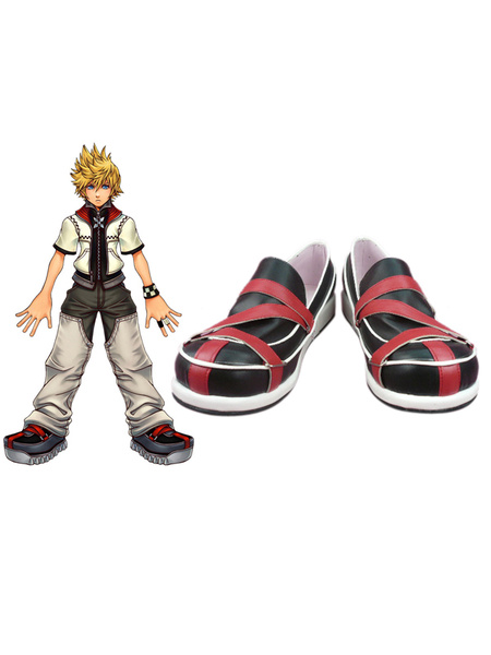 Milanoo Kingdom Hearts II Roxaz Rubber Halloween Cosplay Shoes Halloween