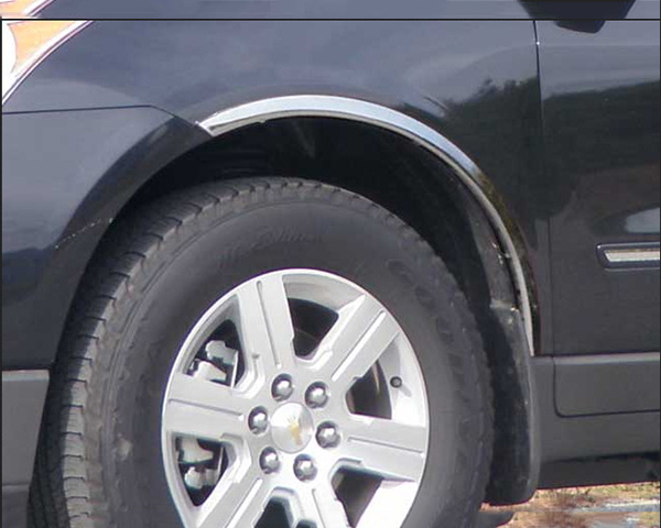 Quality Automotive Accessories 4-Piece Stainless Steel Wheel Well Fender Chevrolet Traverse 2011