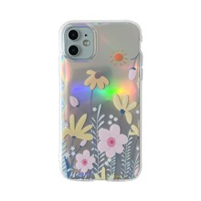 Flower Pattern Laser iPhone Case