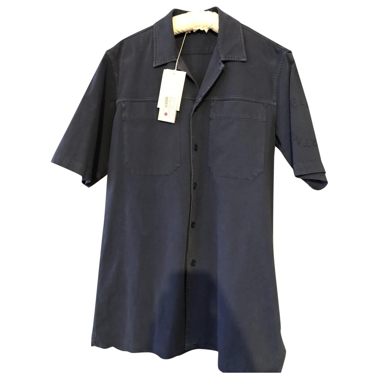 Stella Mccartney - Chemises   pour homme en coton - marine