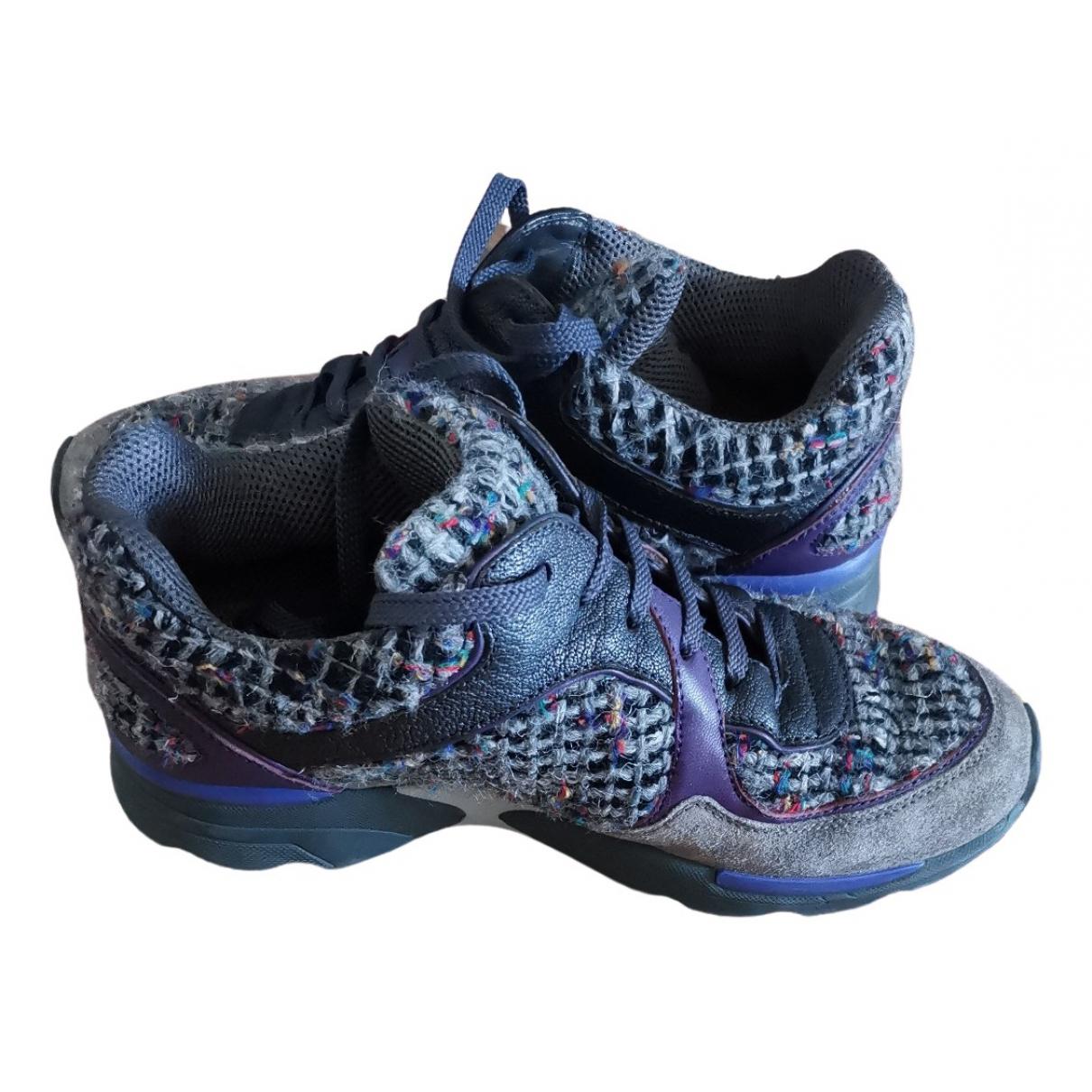 Chanel \N Sneakers in  Grau Tweed