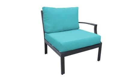 TKC067b-LAS-ARUBA Left Arm Chair - Ash and Aruba