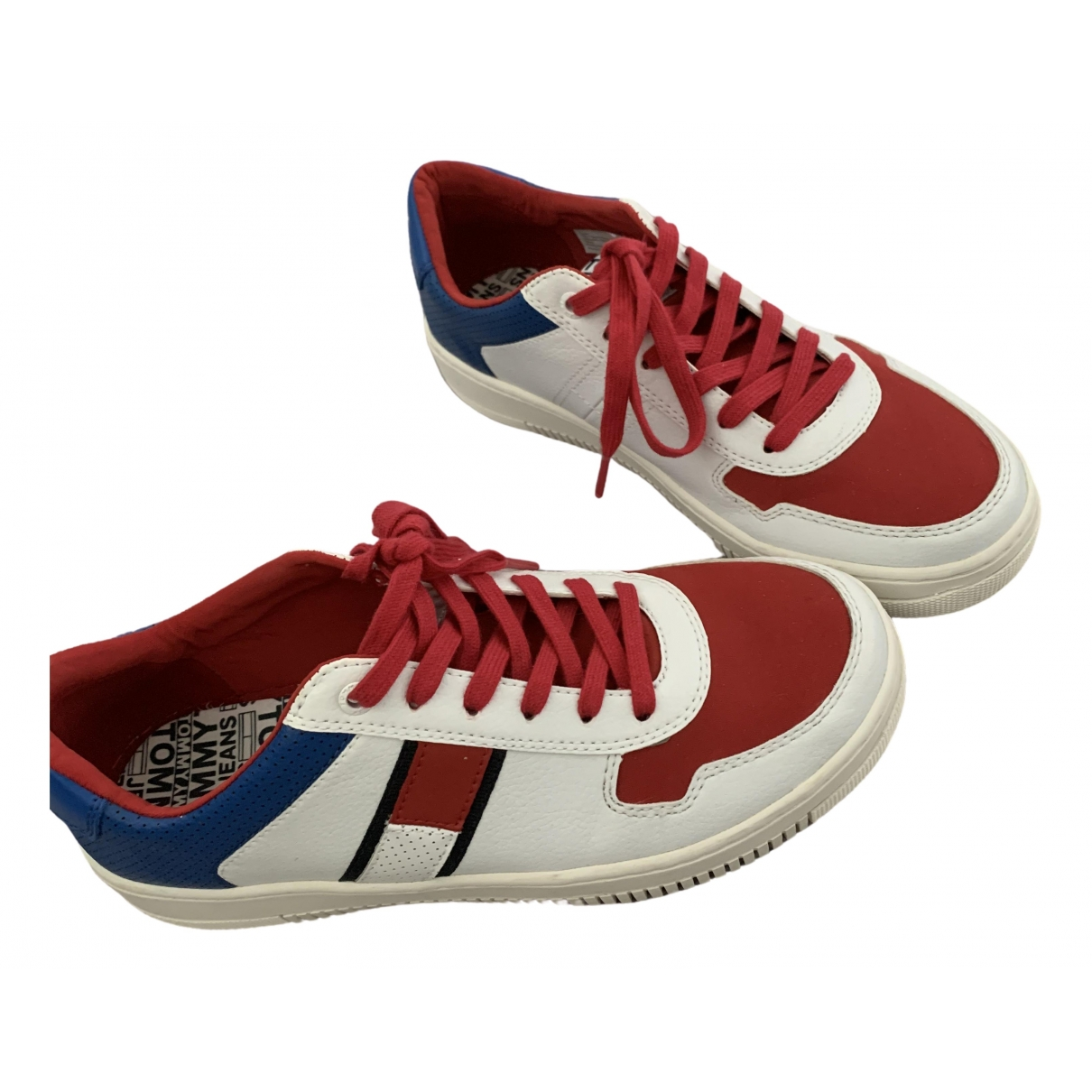 Tommy Jeans \N Multicolour Cloth Trainers for Men 7 UK
