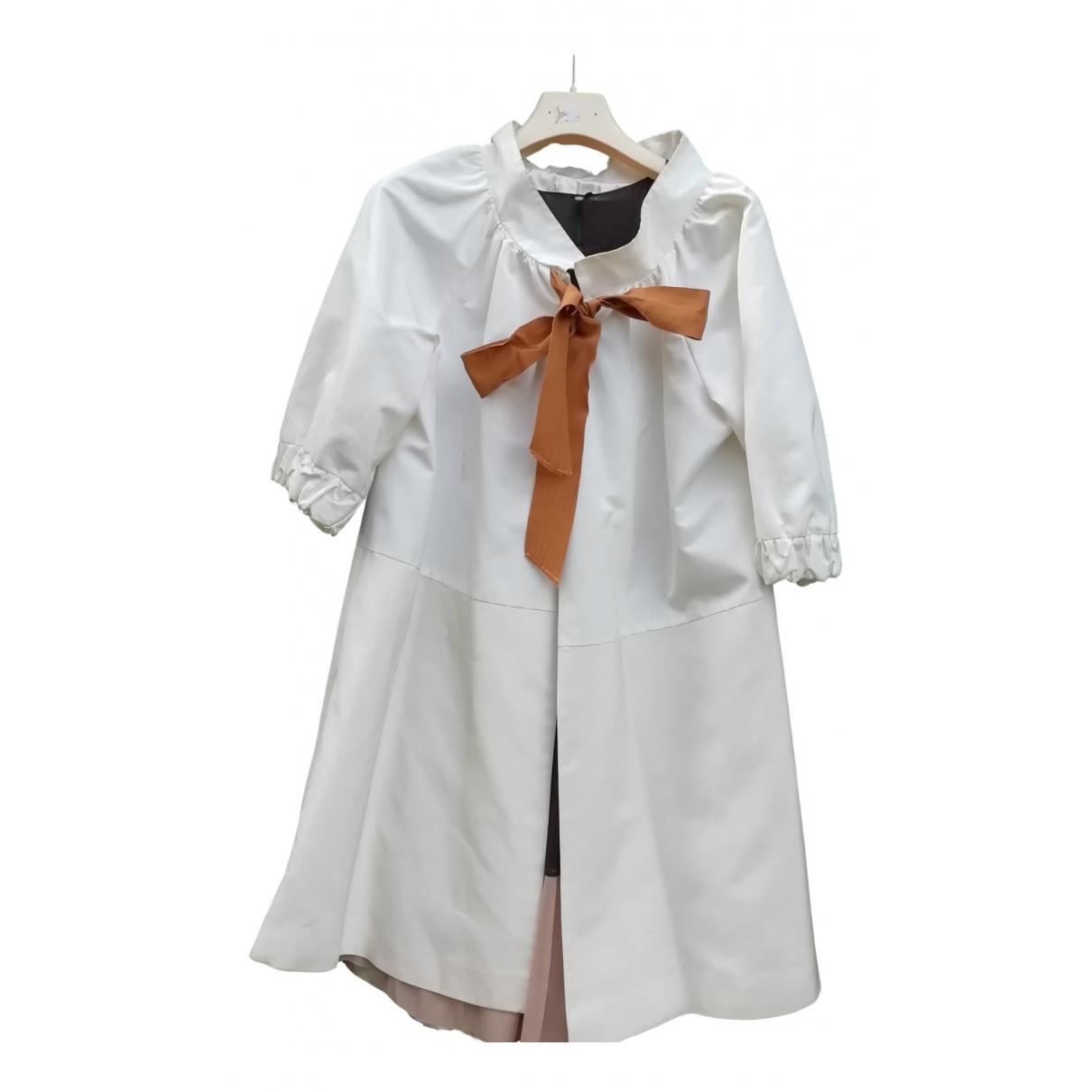 Non Signé / Unsigned \N White coat for Women 42 FR
