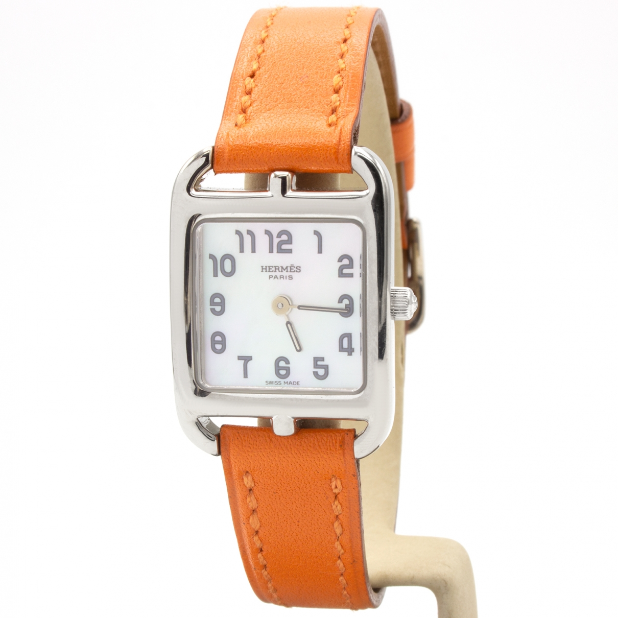 Hermès Cape Cod Silver White gold watch for Women \N