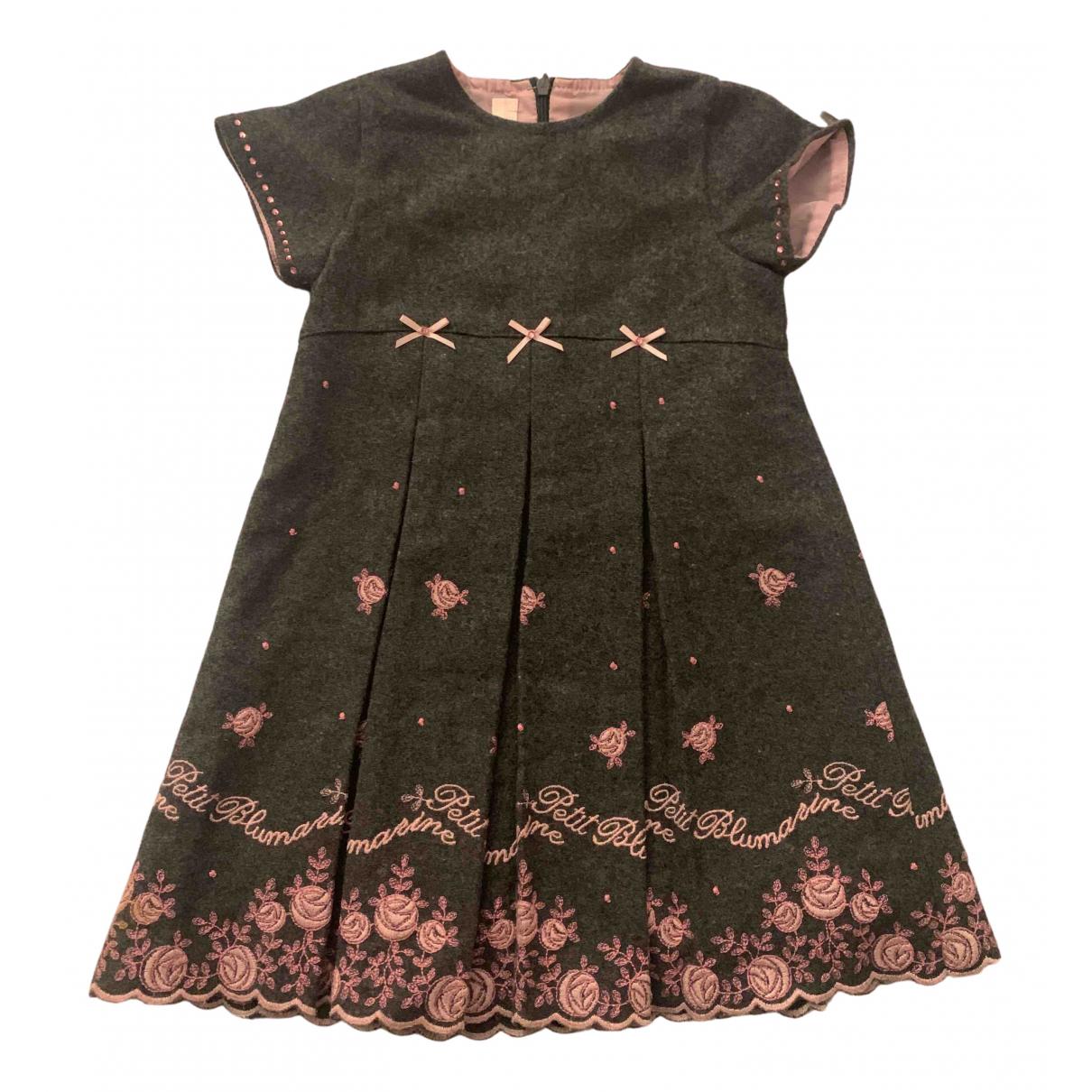 Blumarine \N Kleid in  Grau Wolle