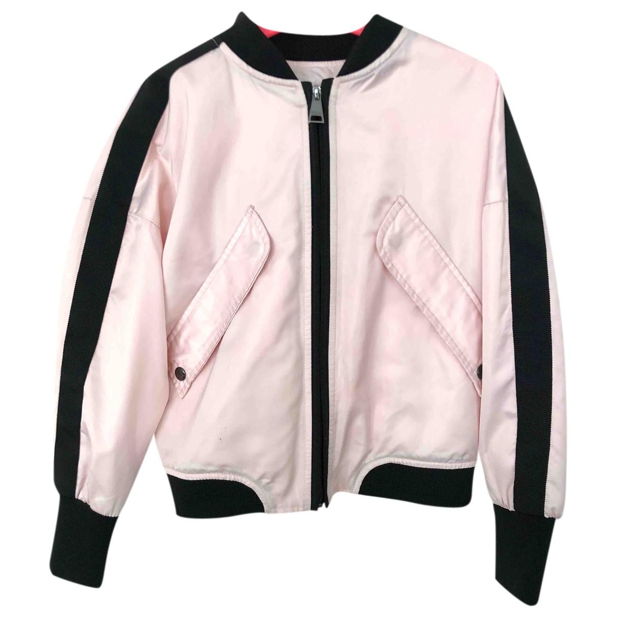 Karl Lagerfeld - Blousons.Manteaux   pour enfant - rose