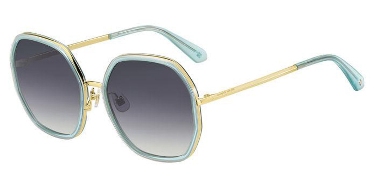 Kate Spade Nicola/G/S OGA/9O Women's Sunglasses Blue Size 58