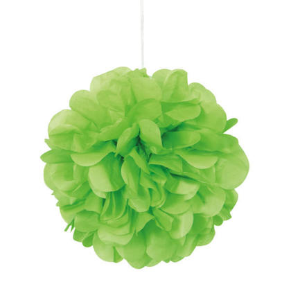 Citron Vert Mini Bouffée de Tissus Décorations 8'' 3Pcs