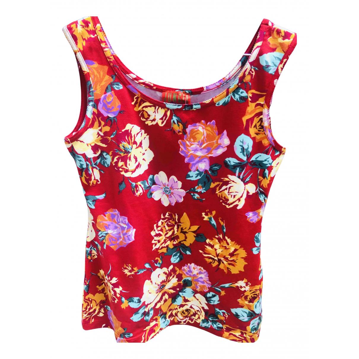 Kenzo \N Red Cotton  top for Women XL International