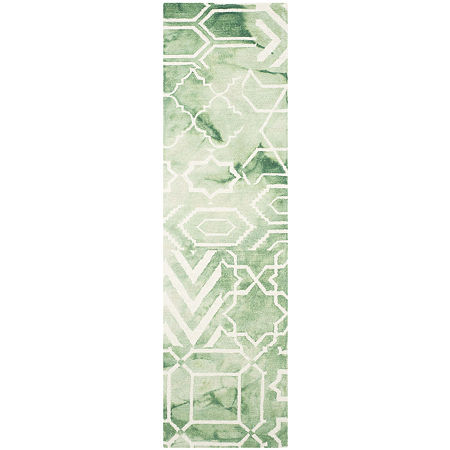Safavieh Dip Dye Collection Venice Chevron Runner Rug, One Size , Multiple Colors