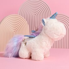 Unicorn Shaped Plush Dog Toy