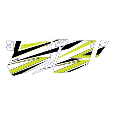 Pro Armor 2018 XP4 1000 Traditional Door Graphic - (White Lightning) - P184G501WL