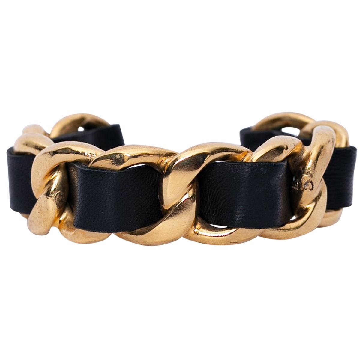 Chanel - Bracelet Baroque pour femme en metal - noir