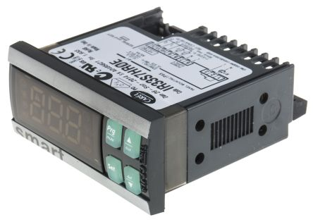 Carel IR33 Panel Mount PID Temperature Controller, 76.2 x 34.2mm, 1 Output Relay, 115  230 V ac Supply Voltage