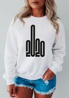 Presale - 2020 Long Sleeve Sweatshirt - White