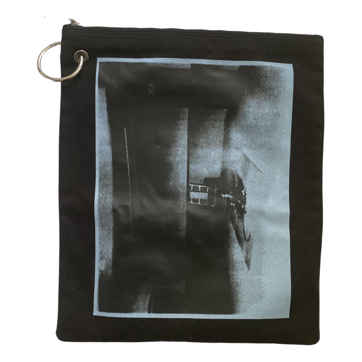 Calvin Klein 205w39nyc \N Black Cotton bag for Men \N