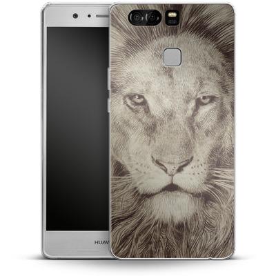 Huawei P9 Silikon Handyhuelle - Leo Lion von Eric Fan