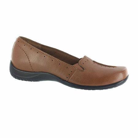 Easy Street Womens Purpose Slip-On Shoe, 11 Wide, Beige