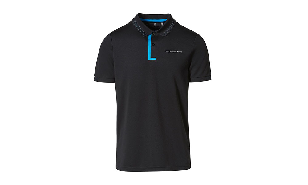 Porsche Driver Selection Taycan Collection Men's Black / Blue Jacket Medium