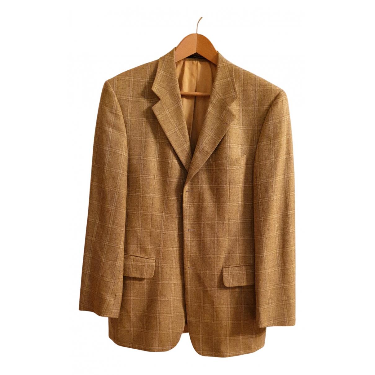 Yves Saint Laurent - Vestes.Blousons   pour homme en soie - beige