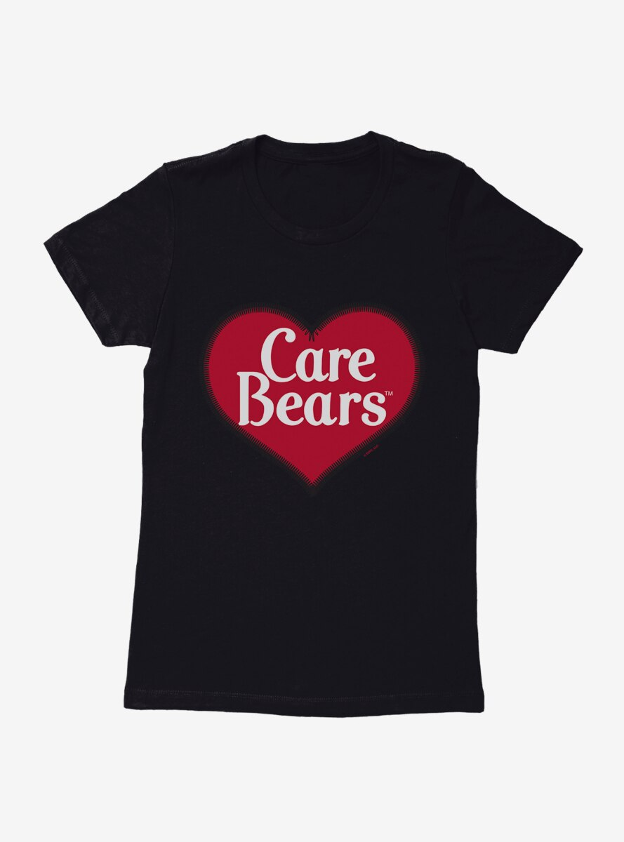 Care Bears Classic Heart Logo Womens T-Shirt