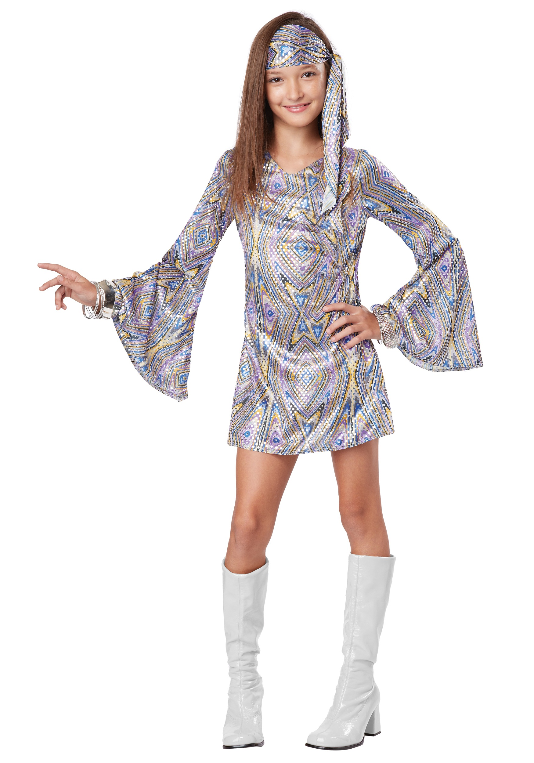 Disco Darling Costume for Girls