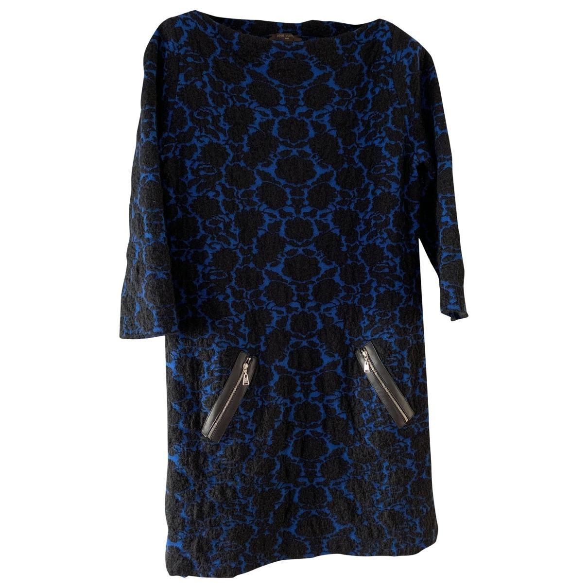 Louis Vuitton - Robe   pour femme en laine - multicolore