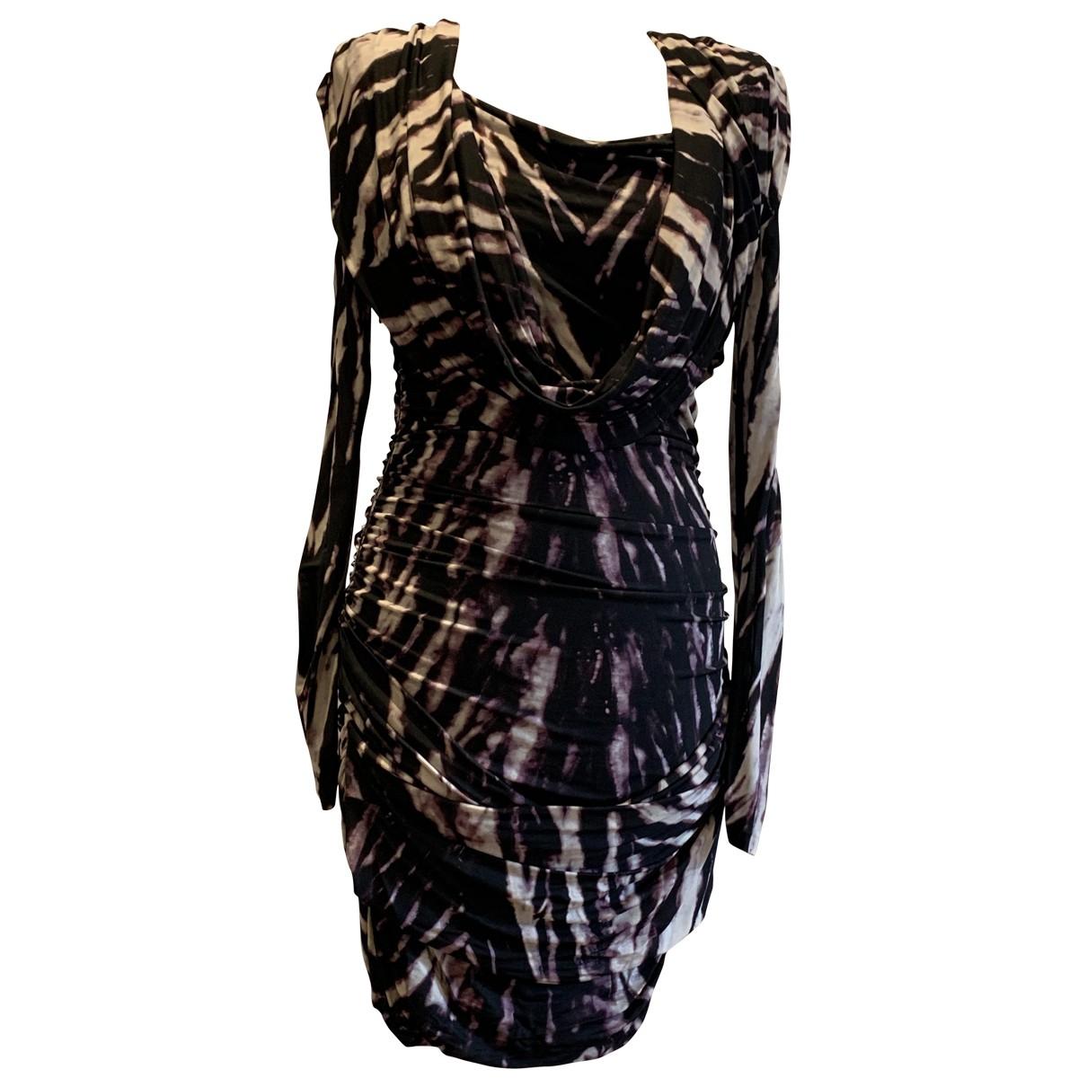 Roberto Cavalli \N Brown dress for Women 42 IT
