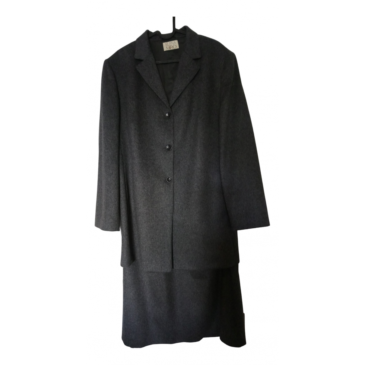 Elena Miro N Grey Wool jacket for Women One Size FR