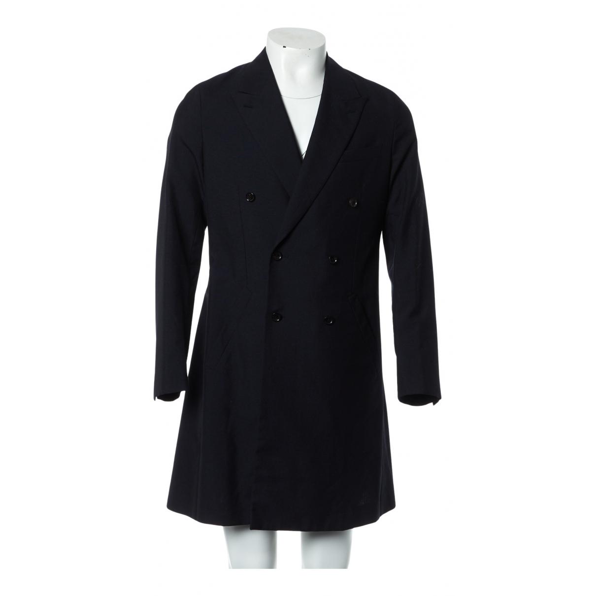 Louis Vuitton N Navy Wool jacket  for Men 48 FR
