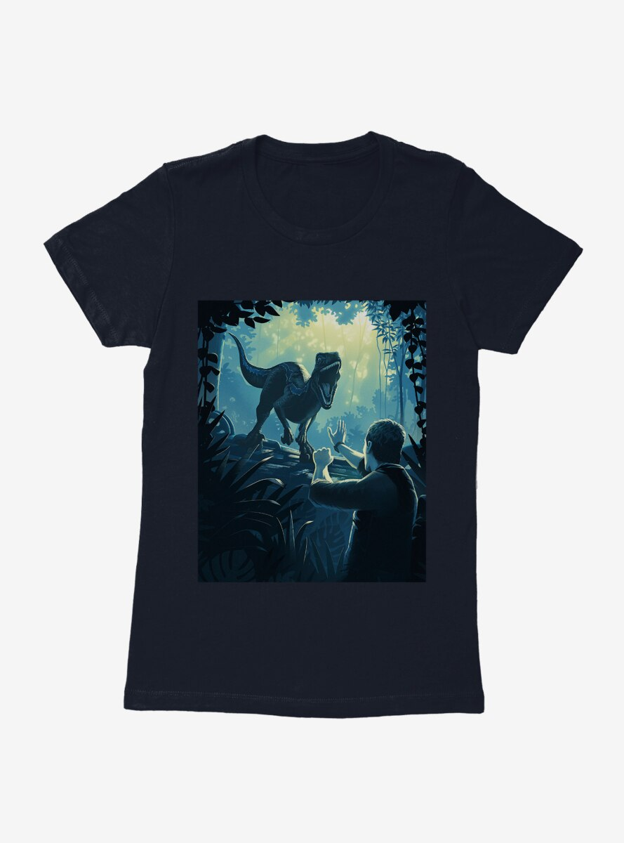Jurassic World Blue In The Wild Womens T-Shirt