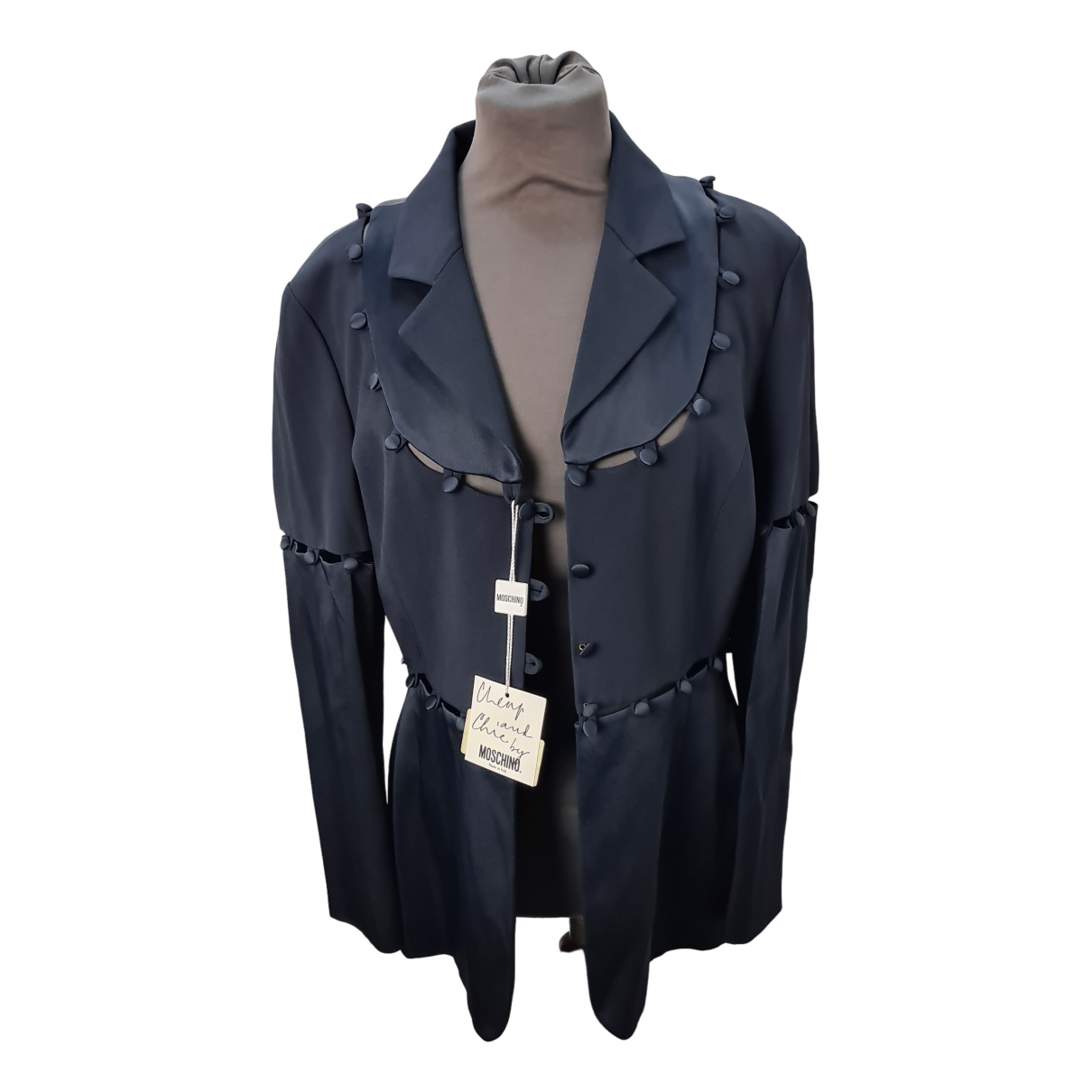 Moschino Cheap And Chic - Veste   pour femme - bleu