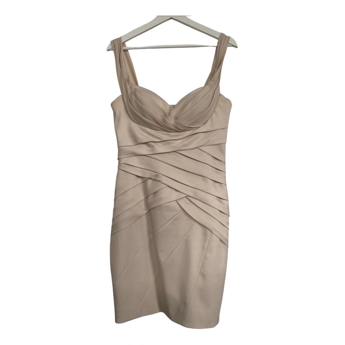 Blumarine \N Kleid in  Ecru Polyester