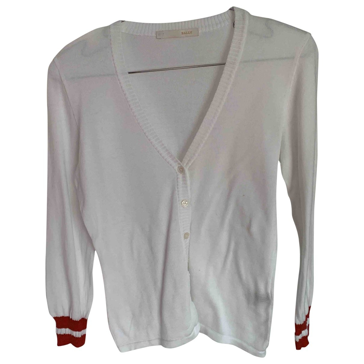 Bally \N White Cotton Knitwear for Women 38 IT