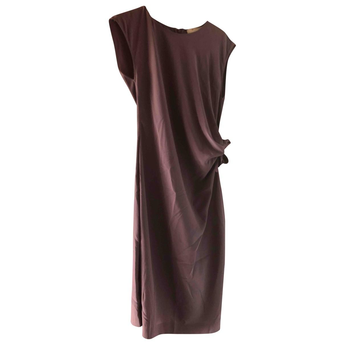 Etro - Robe   pour femme en soie - violet