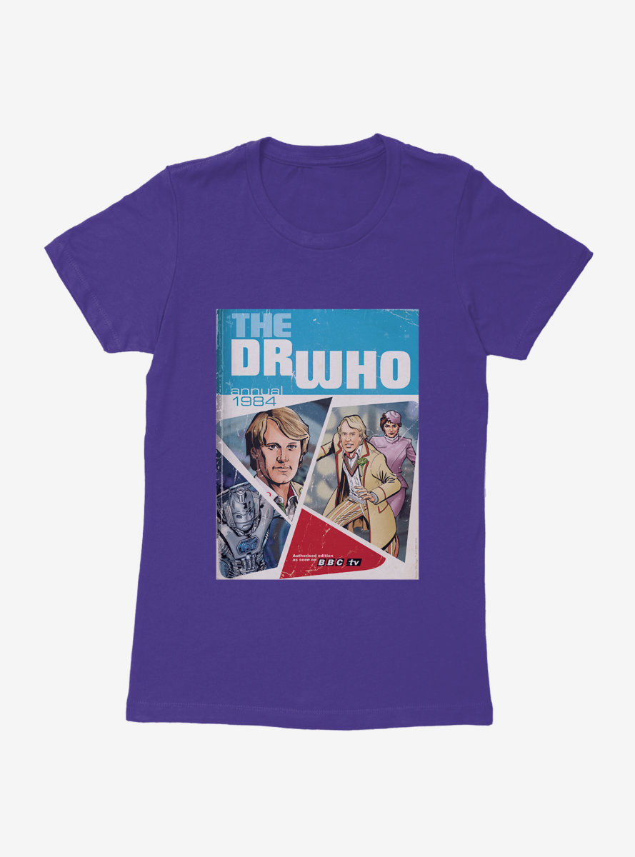 Doctor Who Annual Fifth Doctor Womens T-Shirt