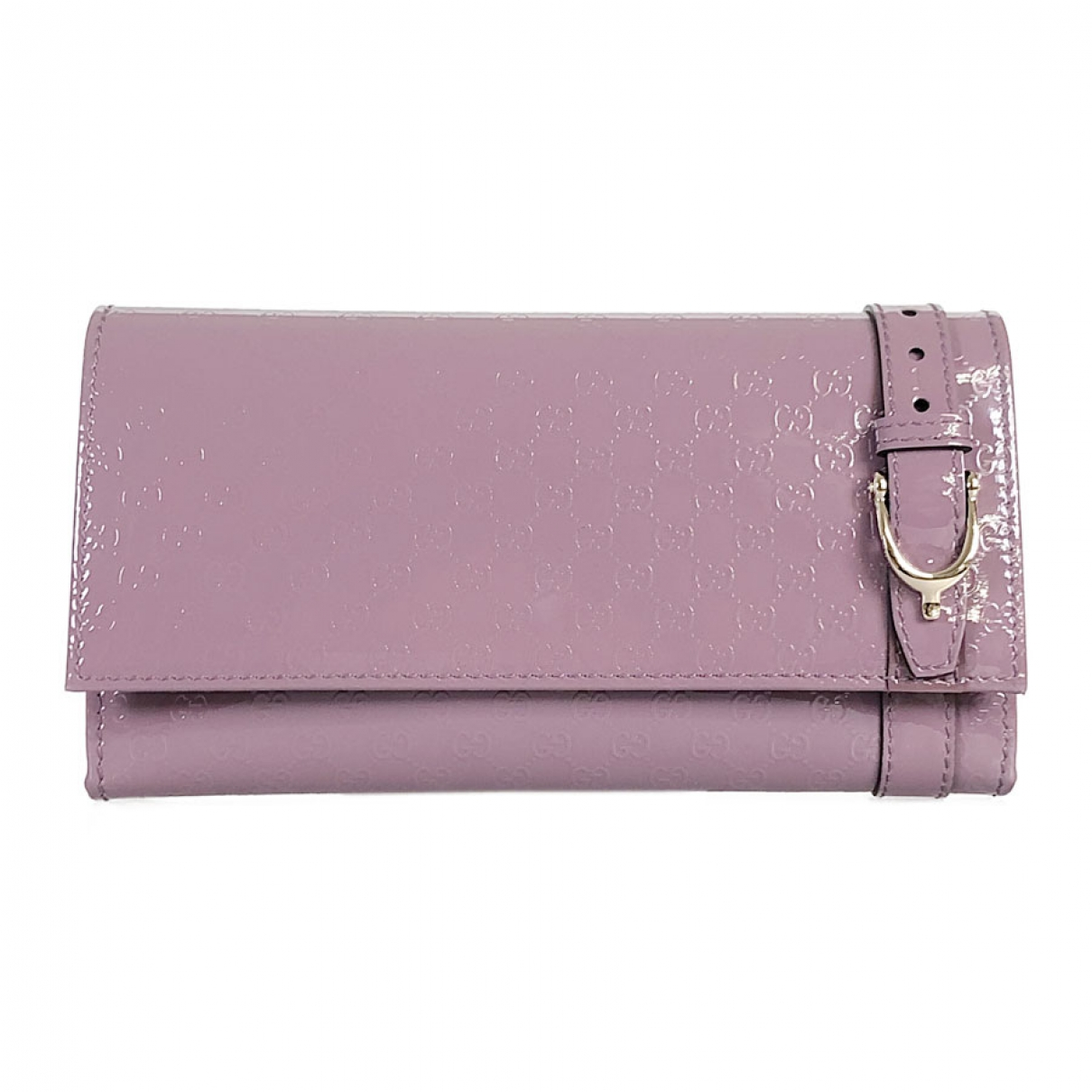 Gucci \N Purple Patent leather wallet for Women \N