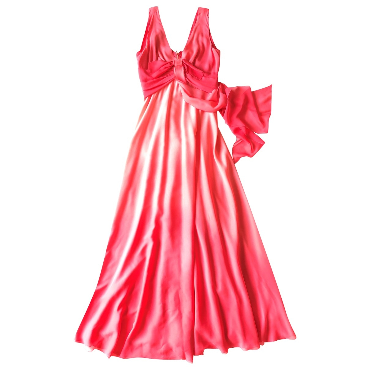 Non Signé / Unsigned \N Pink Silk dress for Women 44 IT