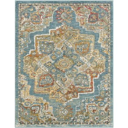 Herati HER-2317 9 x 131 Rectangle Traditional Rug in