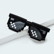 Gafas de sol de niños con diseño de mosaico