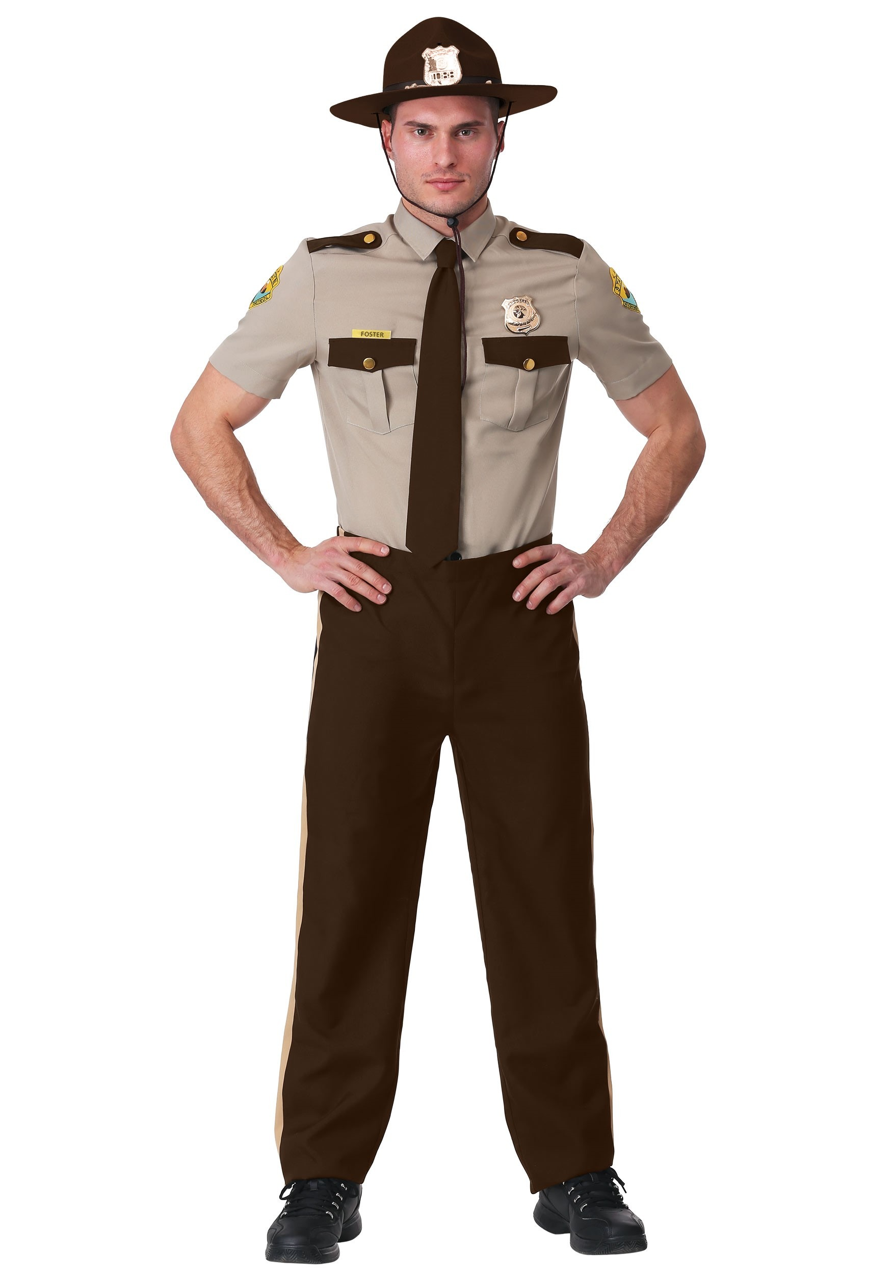 Adult State Trooper Costume Super Troopers