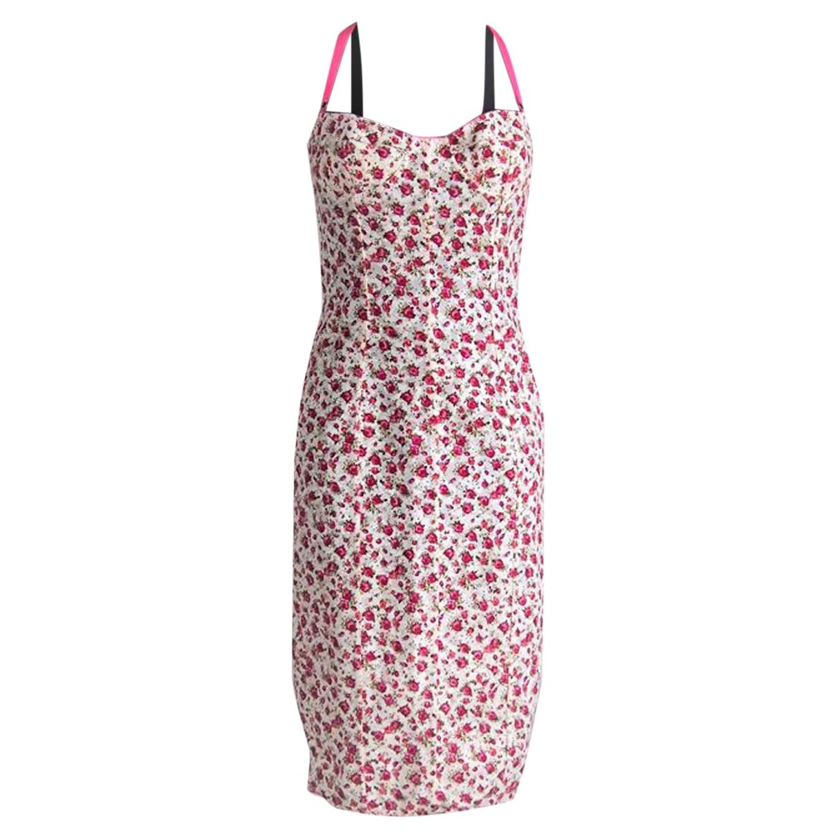 D&g \N Kleid in  Rosa Synthetik