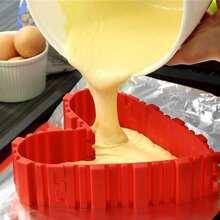 4pcs Cake Baking Mold Set