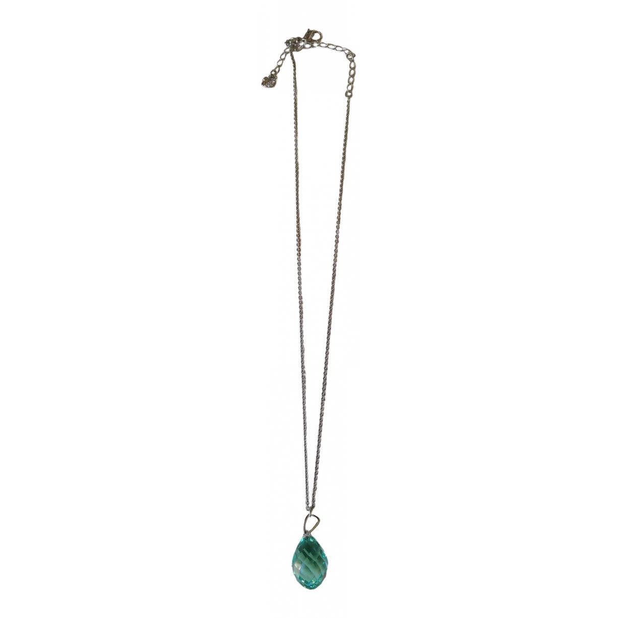 Swarovski - Collier   pour femme en cristal - marine
