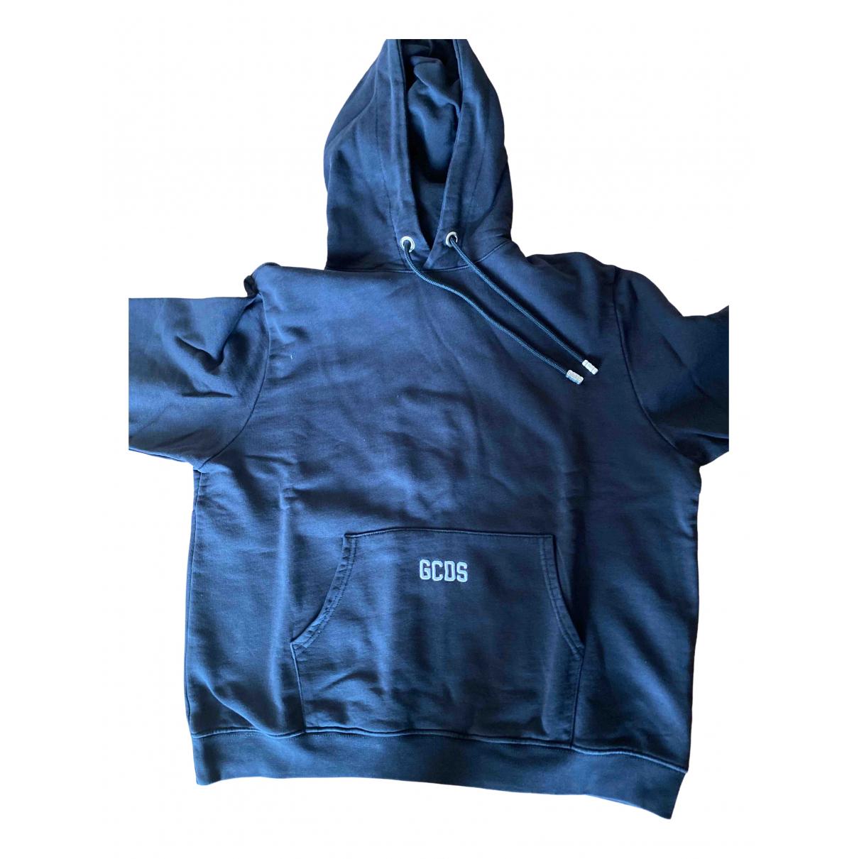 Gcds \N Pullover.Westen.Sweatshirts  in  Schwarz Baumwolle
