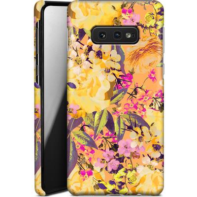 Samsung Galaxy S10e Smartphone Huelle - Symmetric Spring von Zala Farah